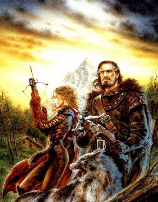 Воин и Валькирия