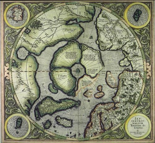 Карта Даарии